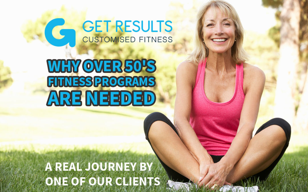 Why Over 50's Fitness Programs Are Needed
